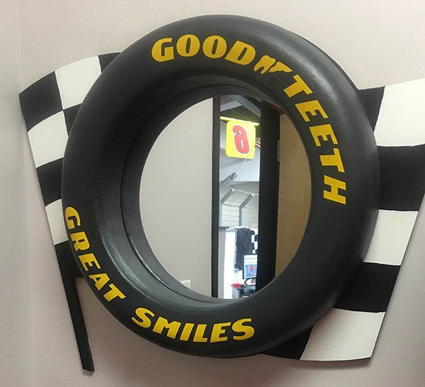 Race Car Mirror