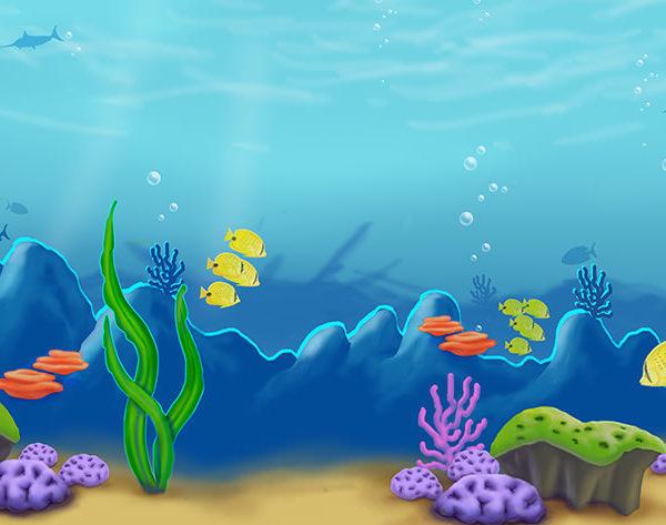 Under Sea Mural